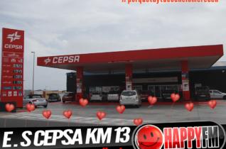 Despiértate Happy desde la Estación de Servicio Cepsa Km 13: 14 Febrero de 2020