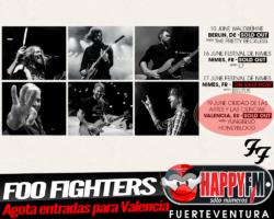 Foo Fighters agotan las entradas para Valencia en un solo día