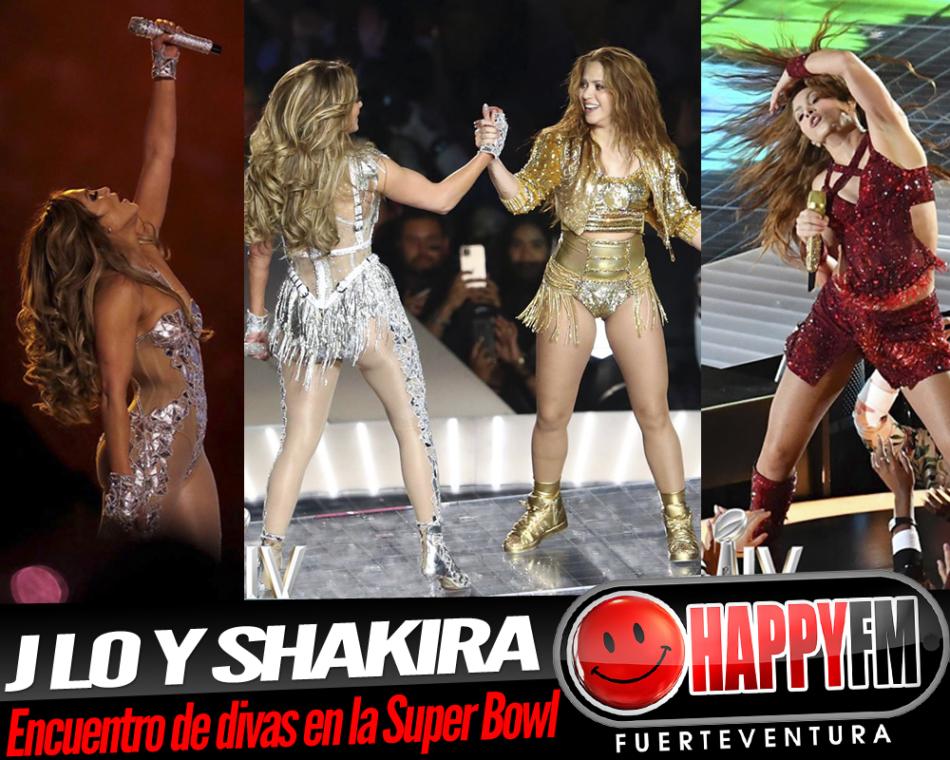 Despliegue de divas en la Súper Bowl con J Lo y Shakira