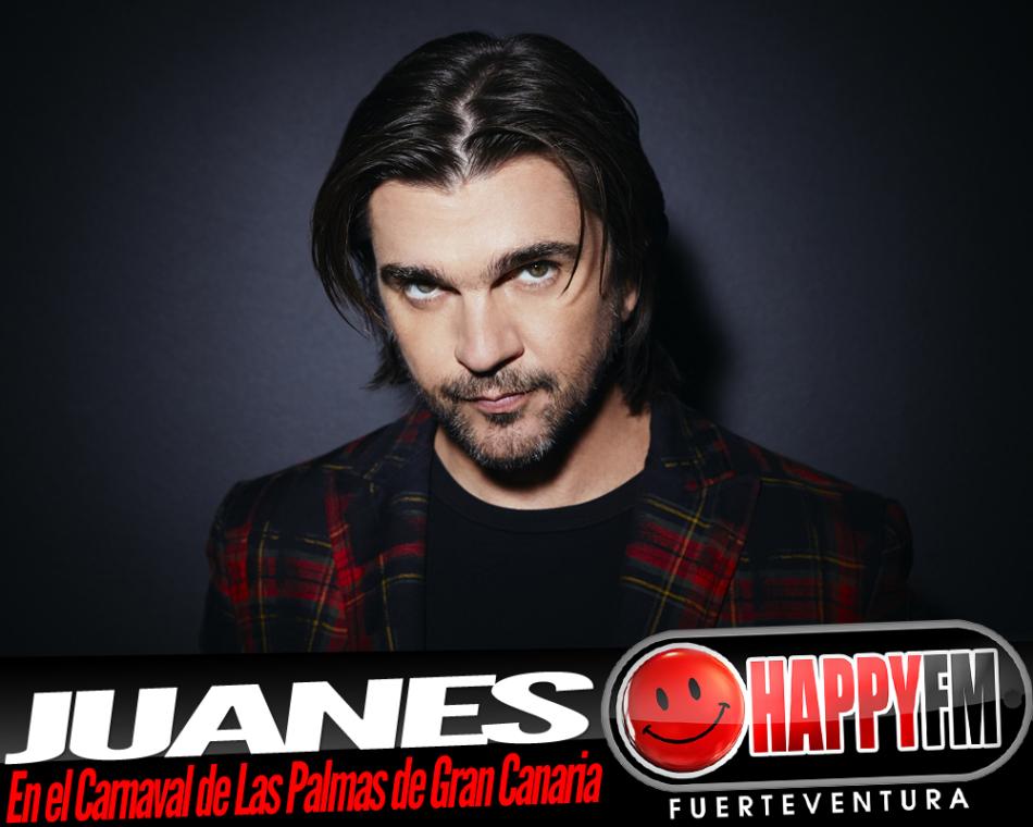 Juanes estará en Las Palmas de Gran Canaria el Martes de Carnaval
