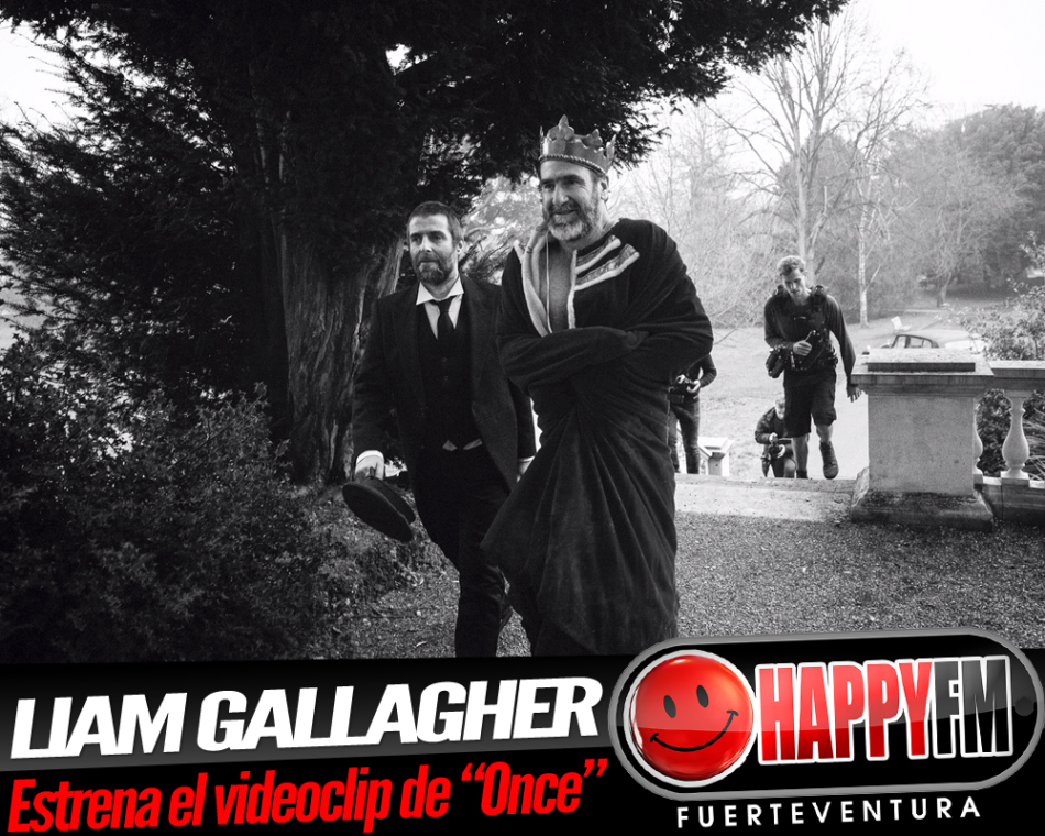 Liam Gallagher publica el videoclip del tema «Once»