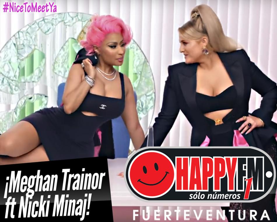 Meghan Trainor y Nicki Minaj estrenan el videoclip del tema «Nice To Meet Ya»