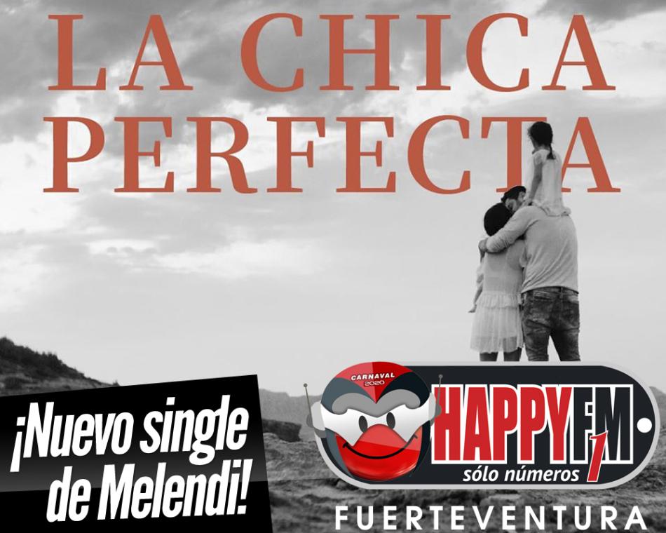 «La chica perfecta» es lo nuevo de Melendi