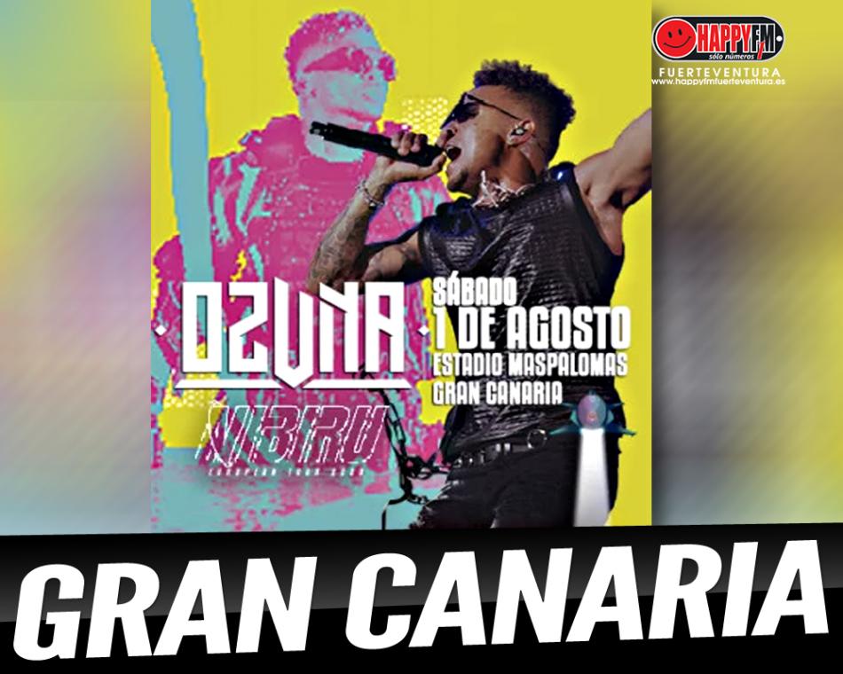 Ozuna ofrecerá un concierto en Gran Canaria