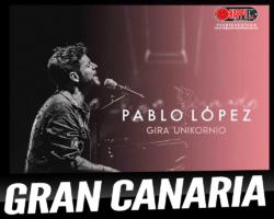 Pablo López llevará su gira Unikornio a Gran Canaria