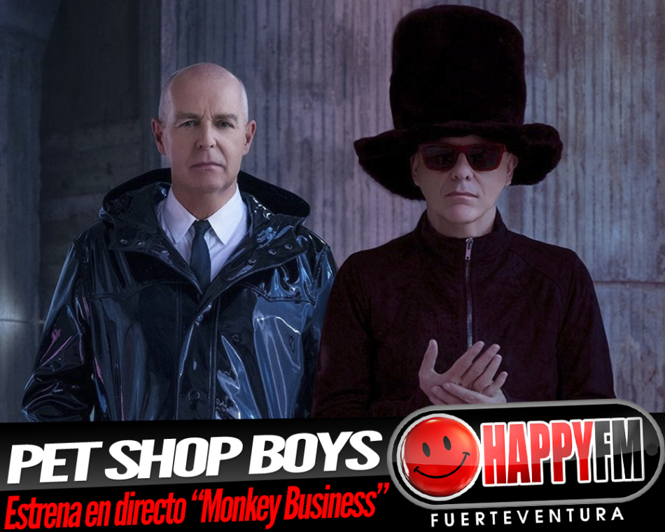 Pet Shop Boys estrena en directo el tema «Monkey Business»