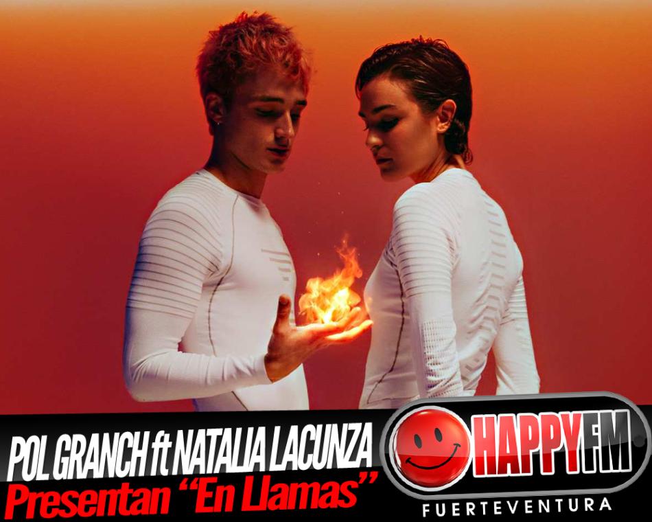 «En Llamas» es la nueva colaboración entre Pol Granch y Natalia Lacunza