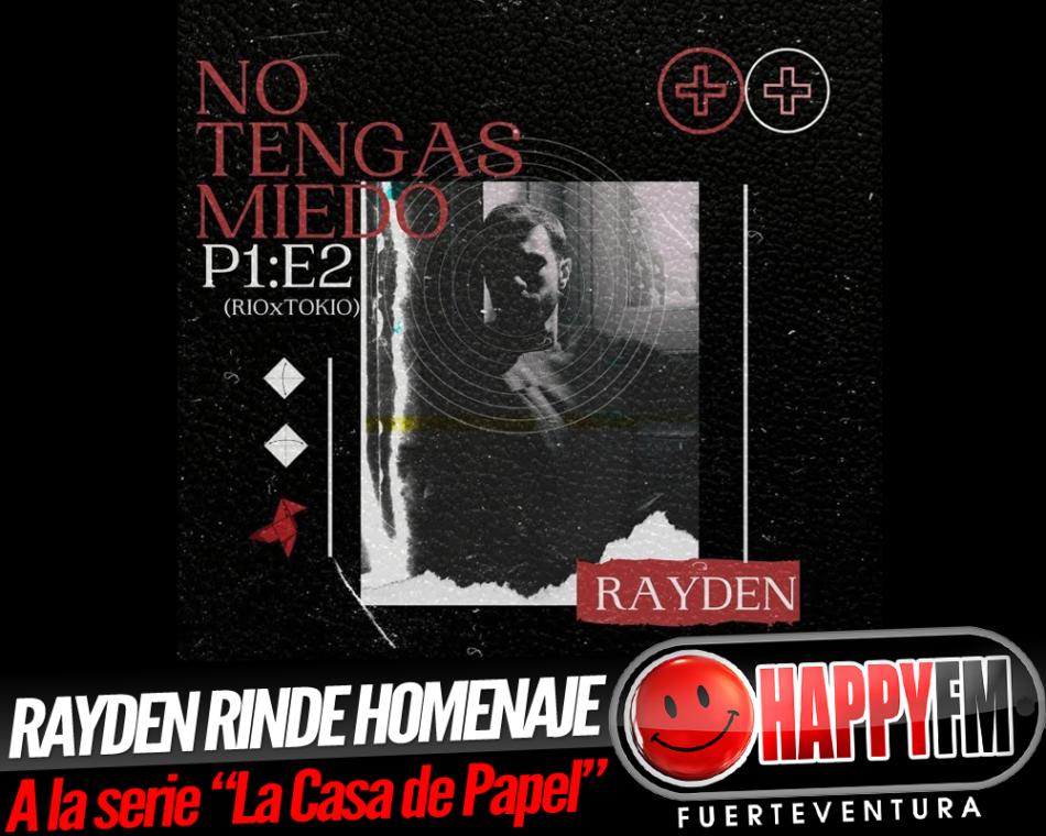 Rayden rinde homenaje a «La casa de papel» poniéndole su particular banda sonora