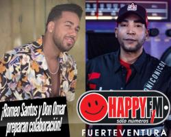 Don Omar y Romeo Santos preparan nueva colaboración
