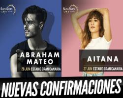 Aitana y Abraham Mateo nuevos confirmados para el Sun & Stars Festival