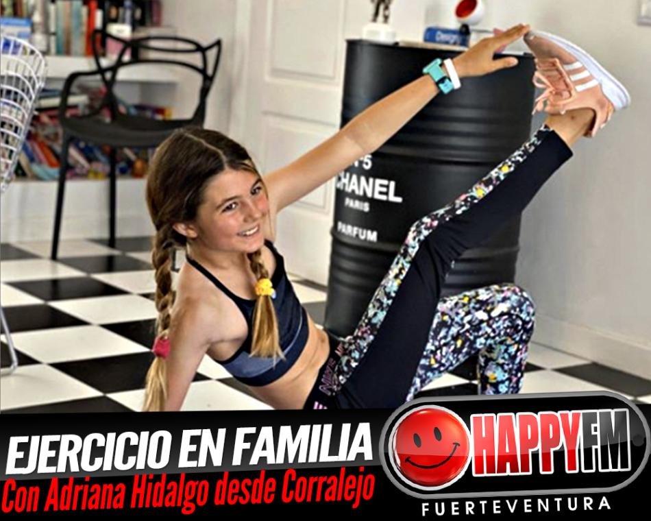 Adriana Hidalgo nos invita a hacer ejercicio desde Corralejo