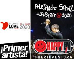 Alejandro Sanz, cabeza de cartel del Isla Bonita Love Festival 2020