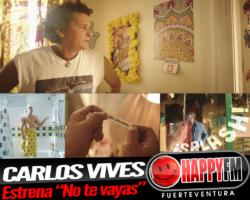 Carlos Vives publica un divertido tema titulado «No te vayas»