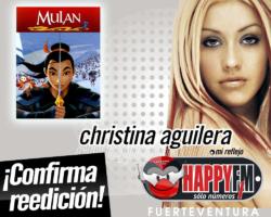 Christina Aguilera anuncia nueva versión del tema «Reflection»