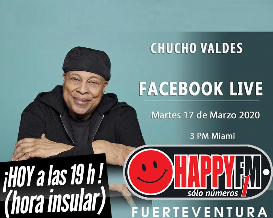 HOY Chucho Valdés en directo a través de Facebook Live