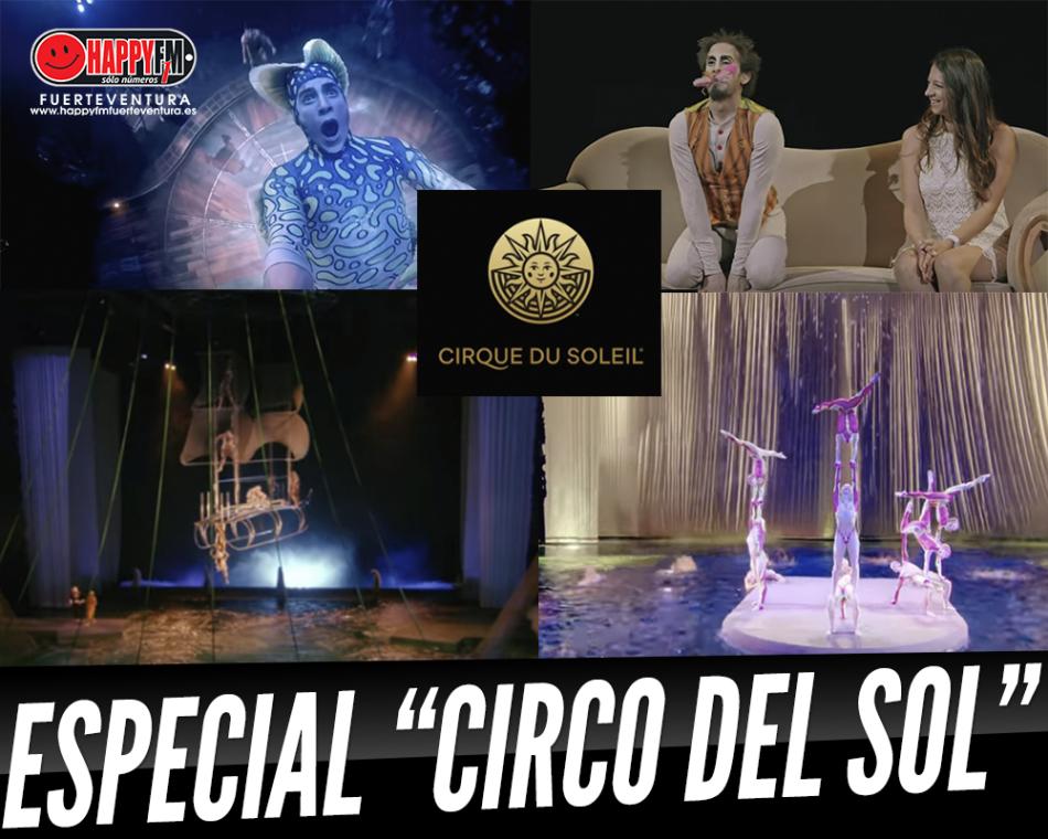 Espectáculo especial del Circo del Sol
