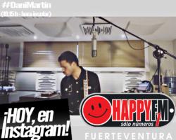 HOY Dani Martín en directo en Instagram