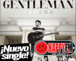 «Gentelman» es el nuevo single de adelanto de Cepeda