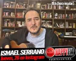 Ismael Serrano en directo este jueves en Instagram