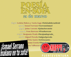 Este sábado Ismael Serrano en tu casa con «Poesía en tu sofá»