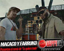 Macaco publica el remix de «Lo quiero todo» con la colaboración de Farruko