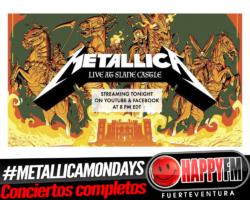 Metallica publicará un concierto completo cada lunes