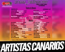 Este martes y miércoles tienes el «Mi Casa-Teléfono Fest», con artistas canarios