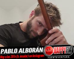 HOY Pablo Alborán en directo en Instagram