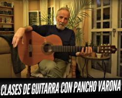 ¿Quieres aprender a tocar la guitarra? Pancho Varona te enseña