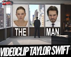 Taylor Swift es «The Man» en su nuevo videoclip