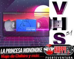 La princesa Mononoke, Viaje a Chihiro y El Castillo Ambulante en VHS 3.1