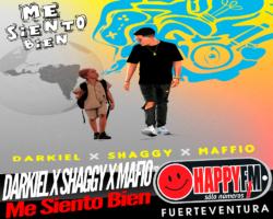 """""""Me Siento Bien"""", el emotivo sencillo de Darkiel, Shaggy y Maffio"""
