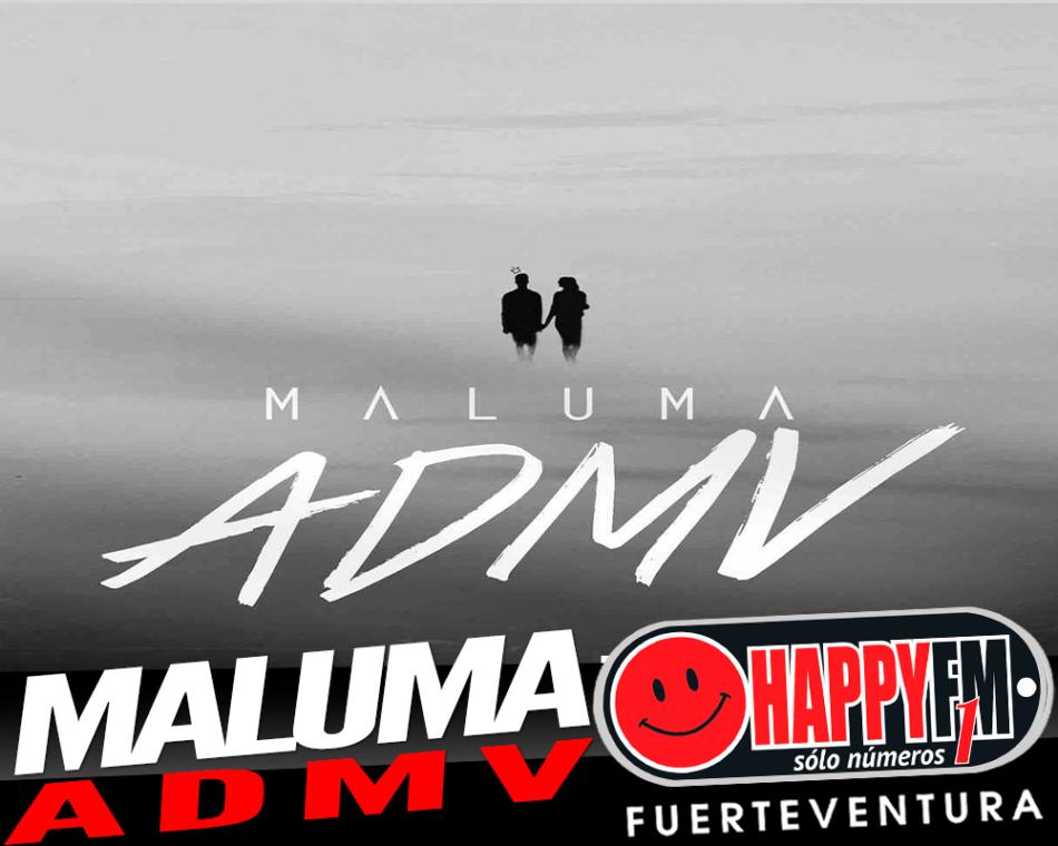 """""""ADMV"""" es el segundo sencillo que Maluma"""