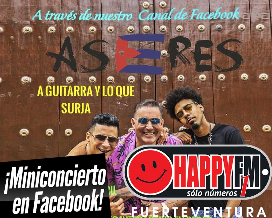 Miniconcierto de Aseres en Facebook