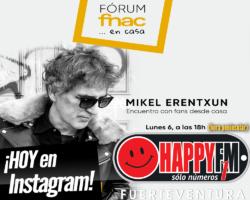 Encuentro virtual hoy con Mikel Erentxun en Instagram