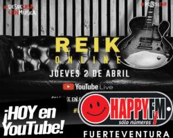 Hoy Reik en vivo en su canal de YouTube
