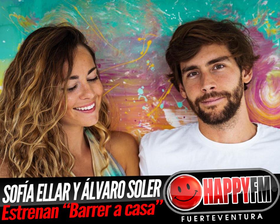 Sofía Ellar y Álvaro Soler publican el tema «Barrer a casa»