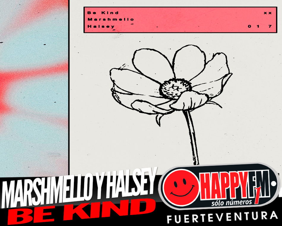 MARSHMELLO y HALSEY  comparten el nuevo single BE KIND