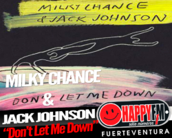 "Milky Chance colaboran con Jack Johnson en la nueva canción ""Don't Let Me Down"""