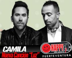 """Camila estrena su nueva canción """"Luz"""""""