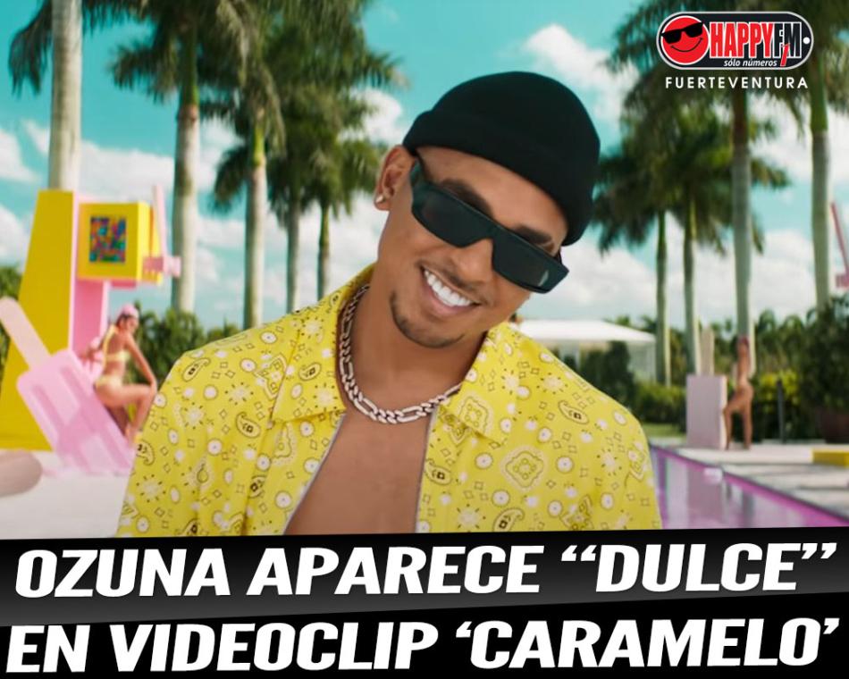 "Ozuna aparece ""dulce"" en su colorido videoclip ""Caramelo"""