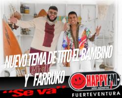 """""""Se va"""", el nuevo tema de Tito El Bambino y Farruko"""