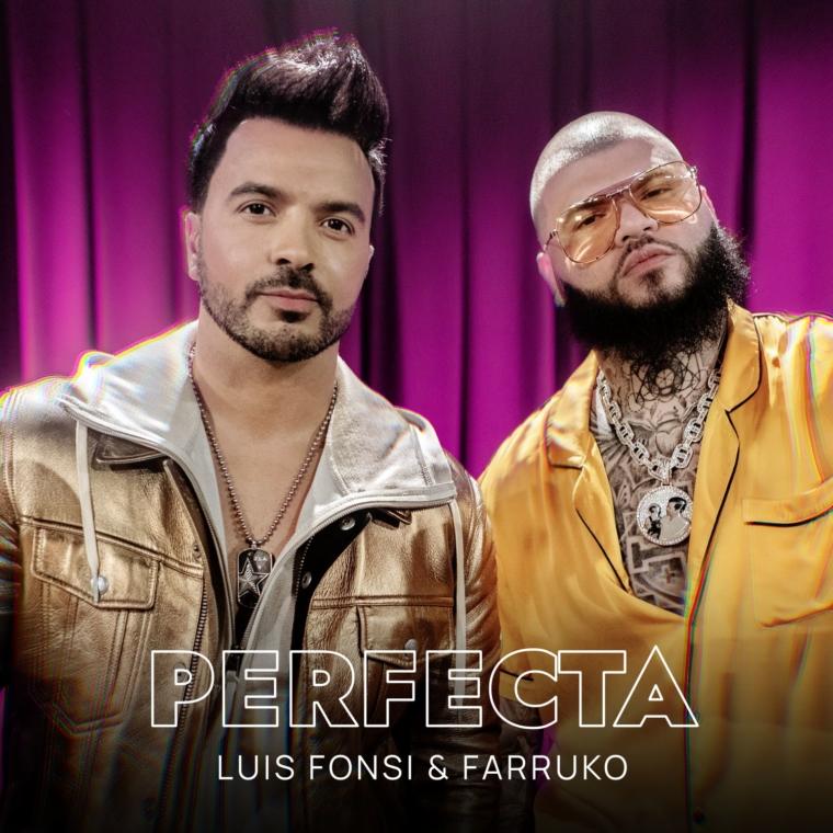 """LUIS FONSI ESTRENA """"PERFECTA"""" SU ESPERADO NUEVO SENCILLO CON LA COLABORACIÓN DE FARRUKO"""