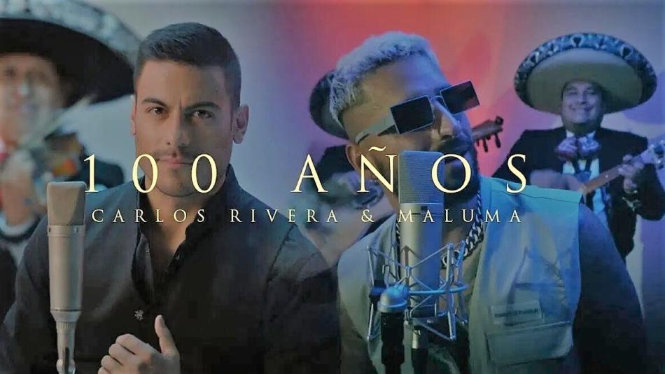 Carlos Rivera y Maluma unen sus voces en «100 años»
