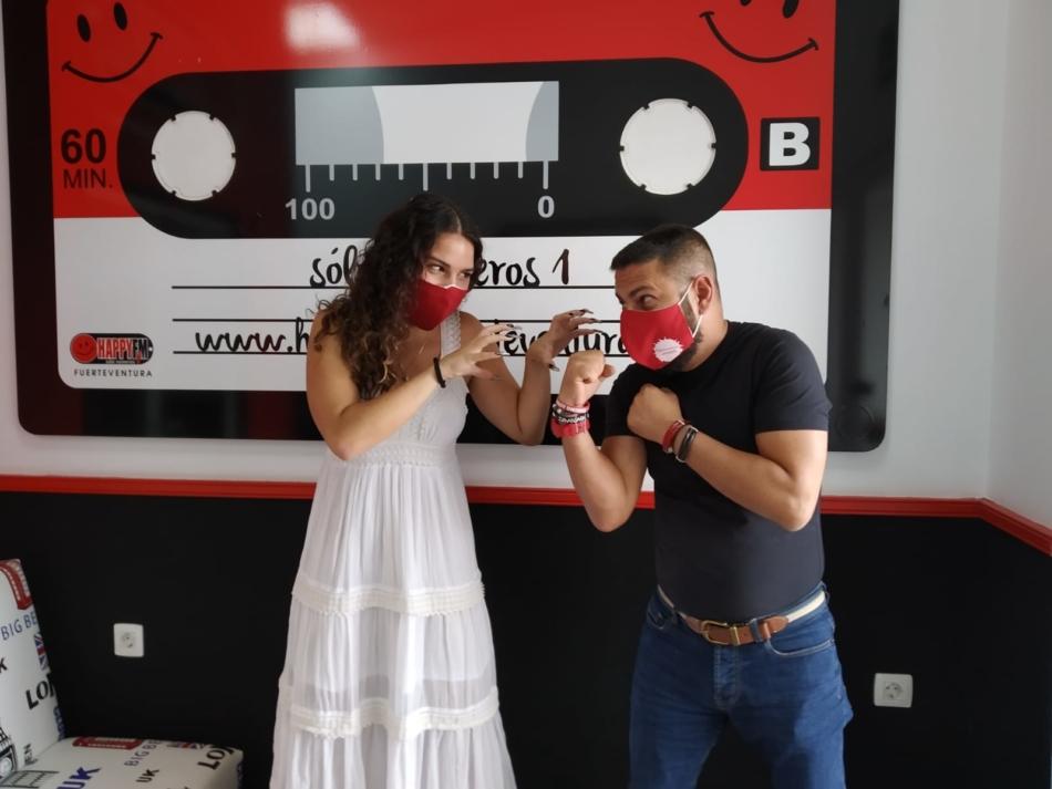 Marta Umpiérrez presenta en Happy FM Fuerteventura su primer single oficial «Abracadabra»
