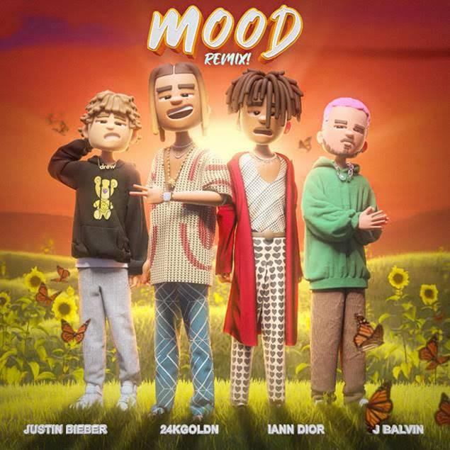 24KGoldn se une a Justin Bieber y J Balvin en el remix de «Mood» ft  Iann Dior