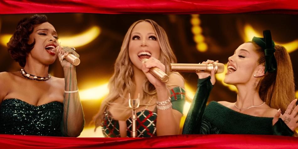 Mariah Carey, Ariana Grande y Jennifer Hudson unen sus voces en una nueva versión de «Oh Santa!»