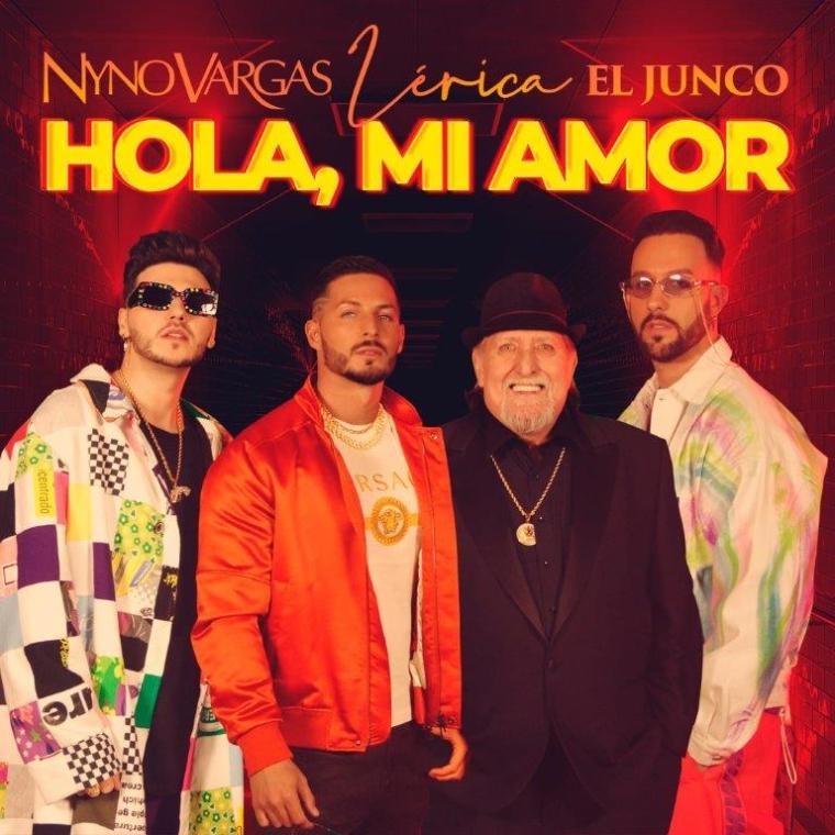 Nyno Vargas recupera el clásico de los 80 «Hola mi amor» junto a El Junco y Lérica