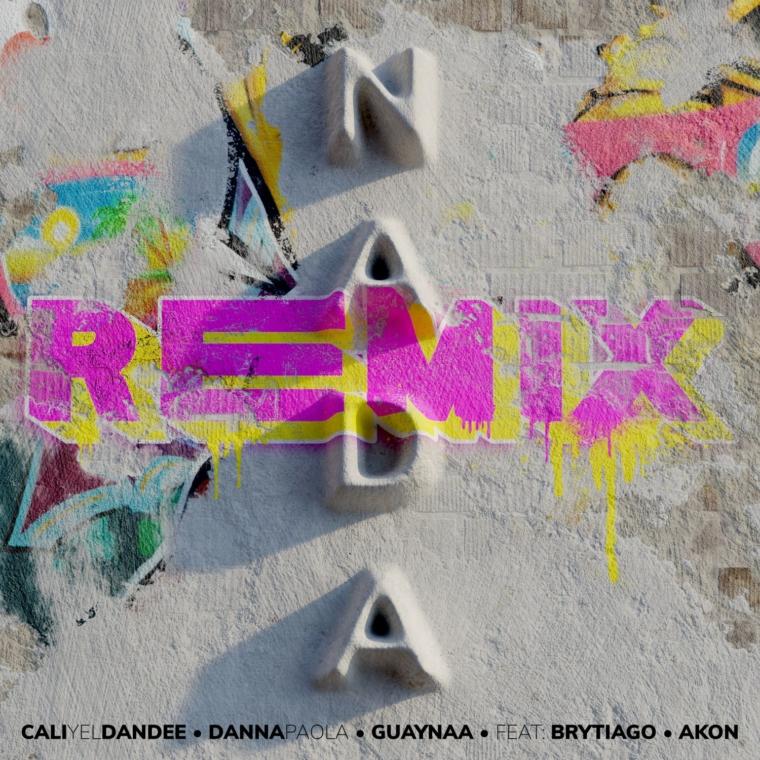 ¿Has escuchado el remix de «Nada» de Cali y El Dandee, Danna Paola, Guaynaa, Brytiago y Akon