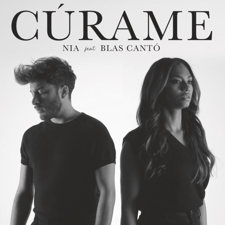 «Cúrame» es la mágica unión entre Nia y Blas Cantó